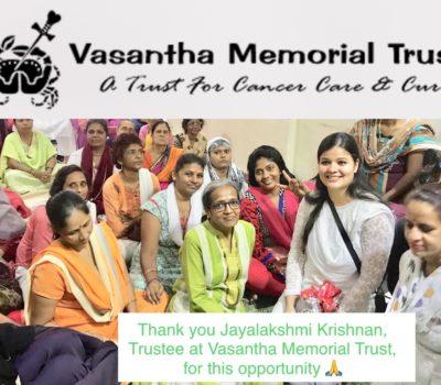 Vasantha Cancer Memorial Trust